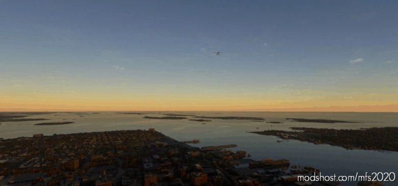 Islands Of Casco BAY Flight Plan for Microsoft Flight Simulator 2020