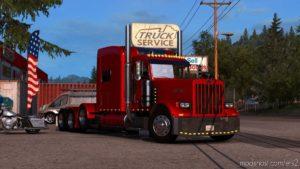 Peterbilt 389 Modified V2.3 [1.39] for Euro Truck Simulator 2