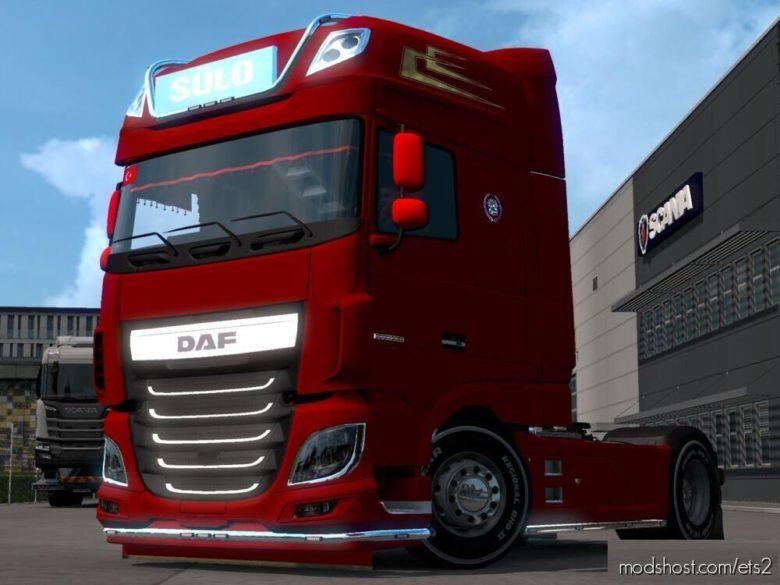 DAF XF Euro 6 Sulo [1.39] for Euro Truck Simulator 2