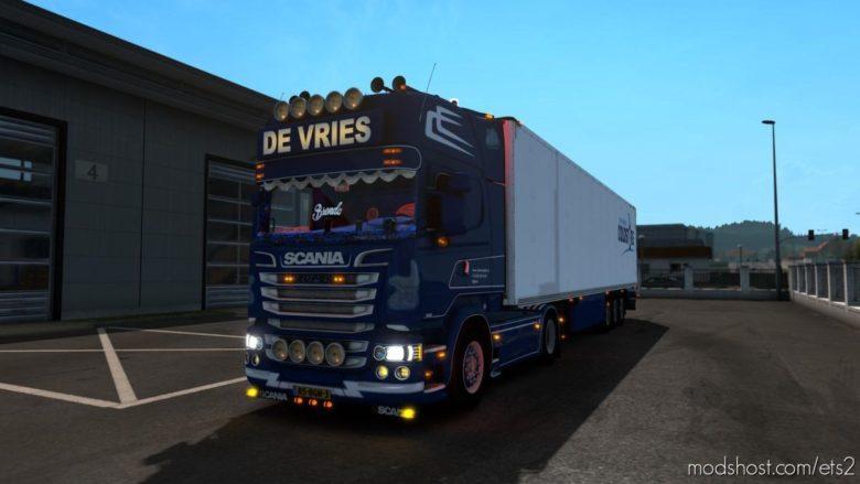 Scania DE Vries Official [1.39] for Euro Truck Simulator 2