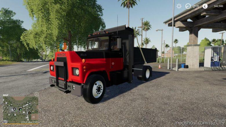 Mack R Dump Truck for Farming Simulator 19