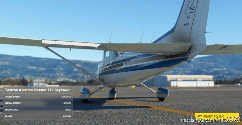 172XP Livery Pack V1.1 for Microsoft Flight Simulator 2020