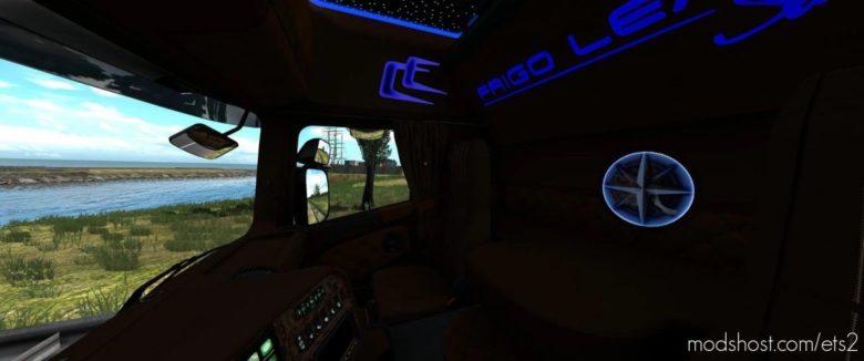 Scania RJL Interior Frigo Leader Sarantos Style [1.39] for Euro Truck Simulator 2