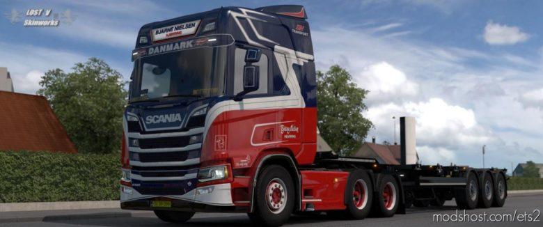 Bjarne Nielsen Skin Pack V1.1.2 for Euro Truck Simulator 2