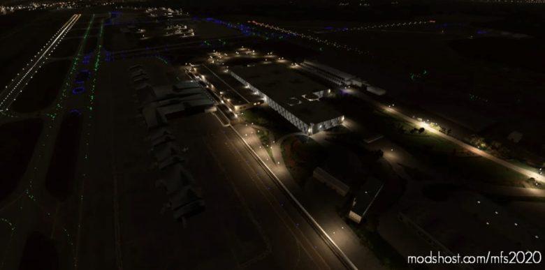 Raleigh Durham International Airport | Krdu | Raleigh, North Carolina for Microsoft Flight Simulator 2020