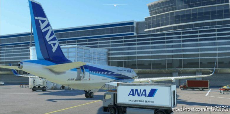 ANA Ground Catering Track [Japan-Ana Repaint] for Microsoft Flight Simulator 2020