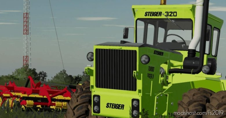 Steiger Turbo Tiger LL Update for Farming Simulator 19