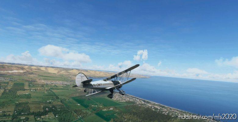 Waco YMF-5 Vh-Ony for Microsoft Flight Simulator 2020
