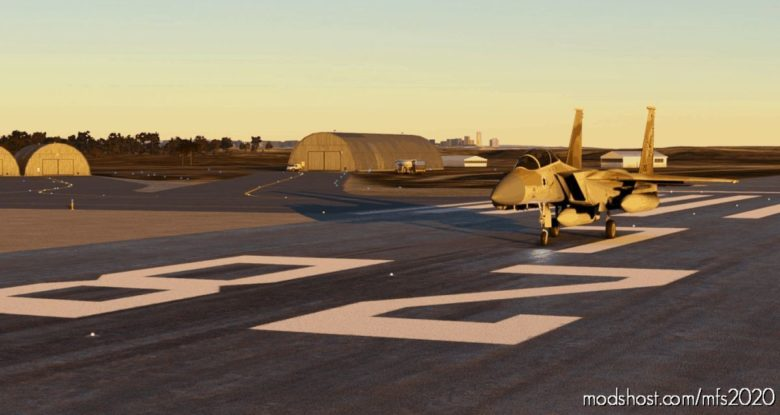 Hatzerim Israeli AIR Force Base – Improvement V1.2 for Microsoft Flight Simulator 2020