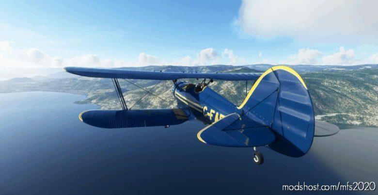 Waco YMF-5 C-Fafb for Microsoft Flight Simulator 2020