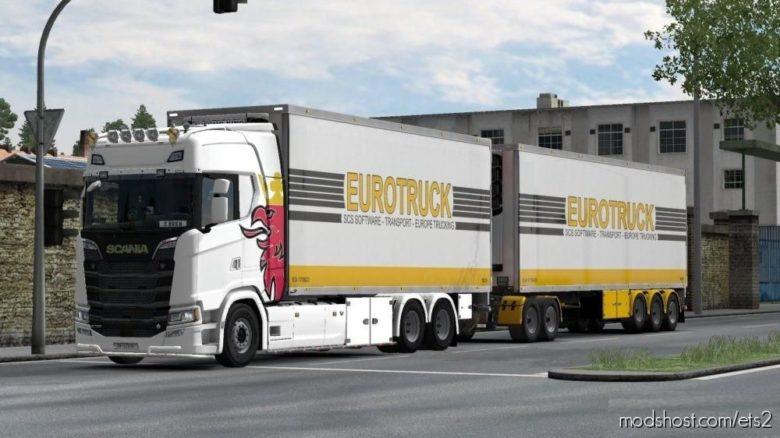 BDF Tandem Truck Pack V139.40 for Euro Truck Simulator 2