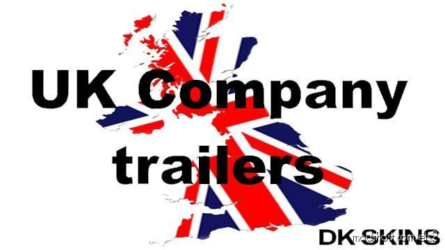 UK Company Trailer Pack [1.39] for Euro Truck Simulator 2
