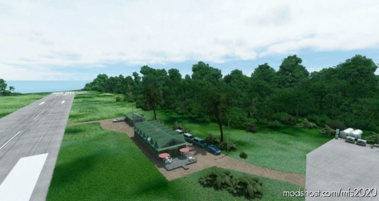 Nfnh-Laucala Island Airport (Redbull Island) Fiji for Microsoft Flight Simulator 2020