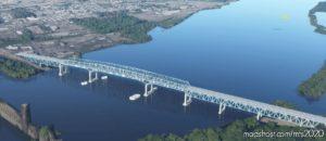 Betsy Ross Bridge 5 Mile NE Of Philadelphia for Microsoft Flight Simulator 2020