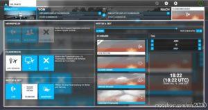Modern UI for Microsoft Flight Simulator 2020