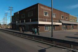 Realistic Corner Shops V1.1 for American Truck Simulator