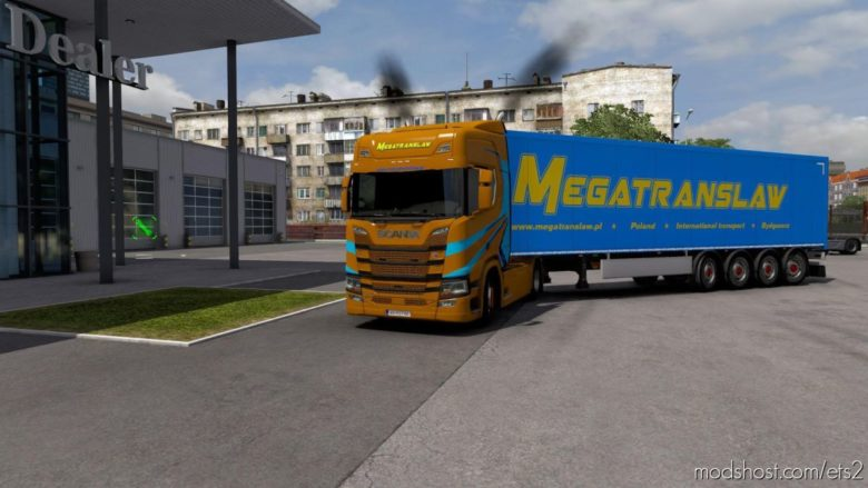 Combo Skin Megatranslaw for Euro Truck Simulator 2
