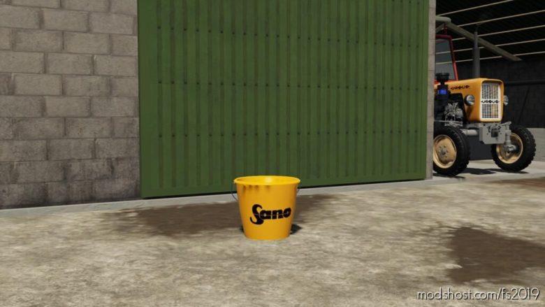 Sano Bucket for Farming Simulator 19