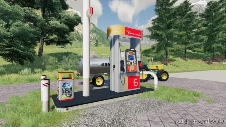 GAS Station Mod for Farming Simulator 19