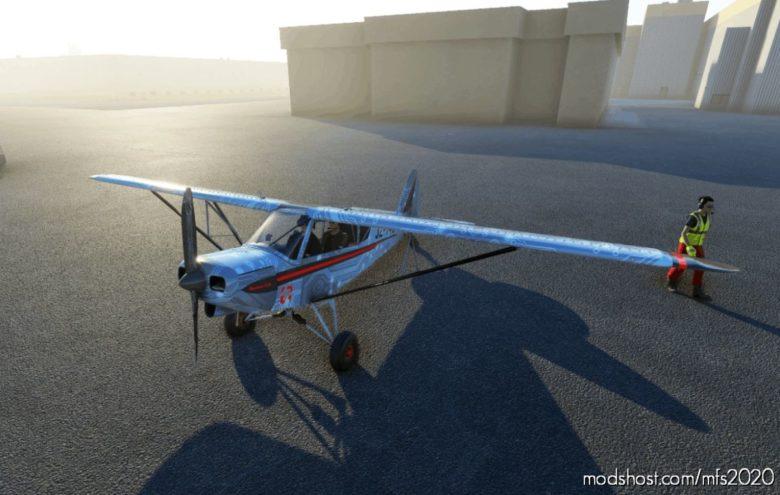 Zlin Savage CUB 'Jayztwocents' for Microsoft Flight Simulator 2020