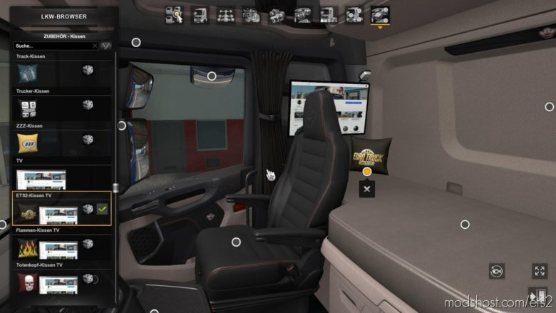 Wollis Interior Addon [1.39] for Euro Truck Simulator 2