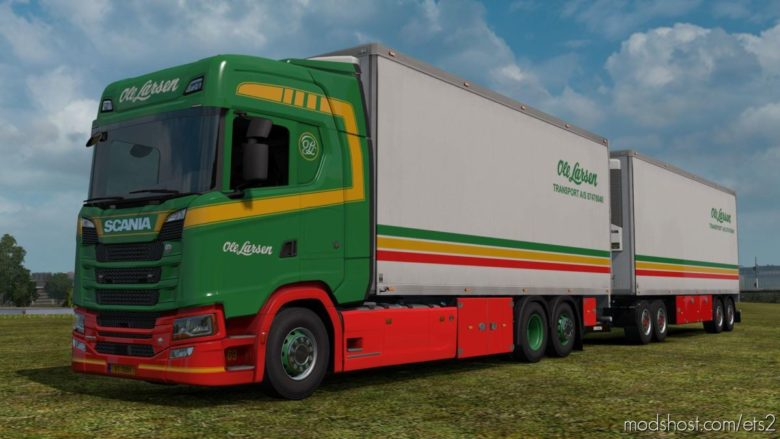 BDF Tandem Truck Pack V139.50 for Euro Truck Simulator 2