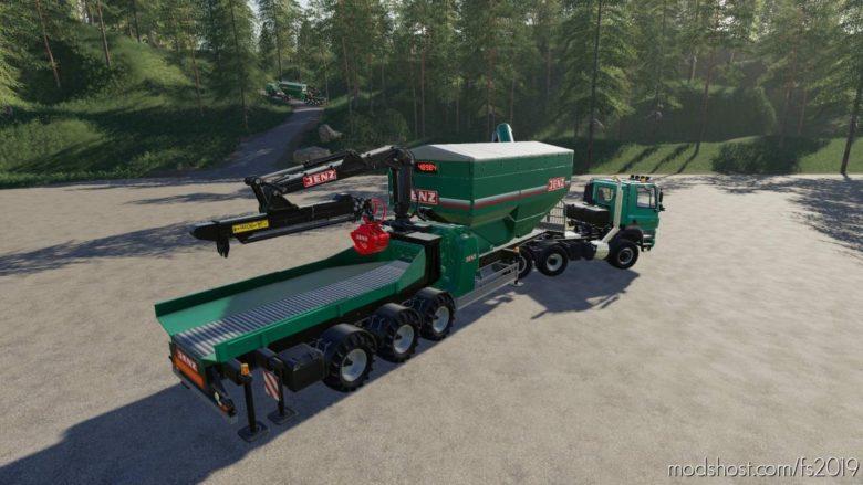 Jenz Wood Crusher for Farming Simulator 19