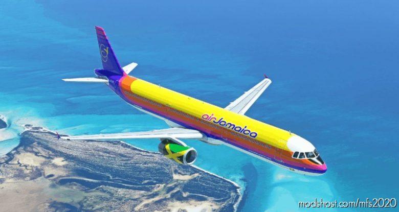 AIR Jamaica A321 V1.2 for Microsoft Flight Simulator 2020