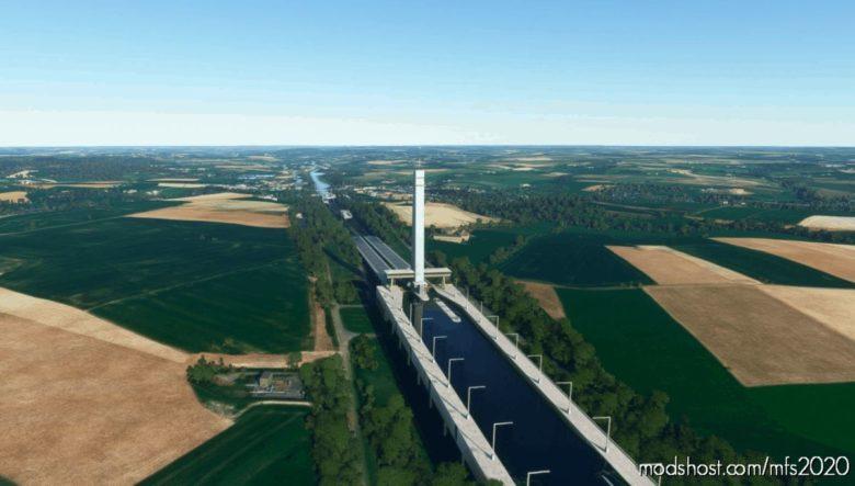 Plan Incliné DE Ronquières for Microsoft Flight Simulator 2020