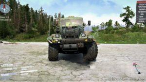 Kraz-255B Truck V2 for MudRunner