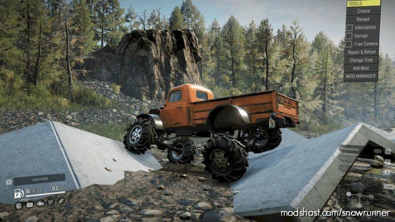 C.C.M. 46 Power Wagon for SnowRunner