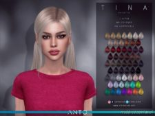 Anto – Tina (Hairstyle) for The Sims 4