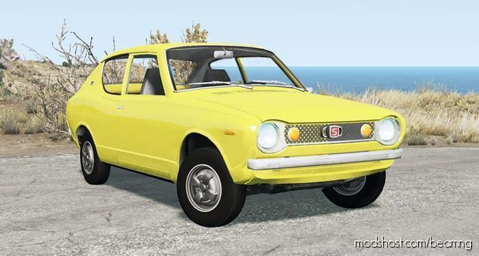 Datsun Cherry 100A 2-Door Sedan (E10) 1972 for BeamNG.drive
