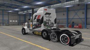 Formula ONE F1 Trucks And Trailer Skins for American Truck Simulator