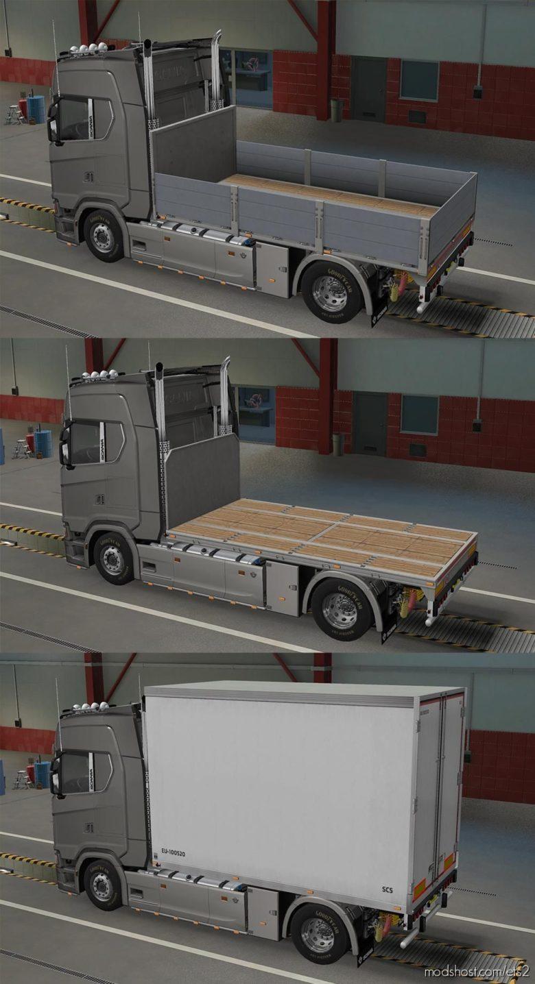 BDF Tandem Truck Pack V139.75 for Euro Truck Simulator 2