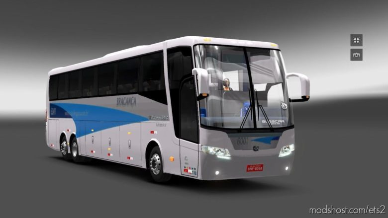 Busscar Elegance 360 V1.1 [1.39] for Euro Truck Simulator 2