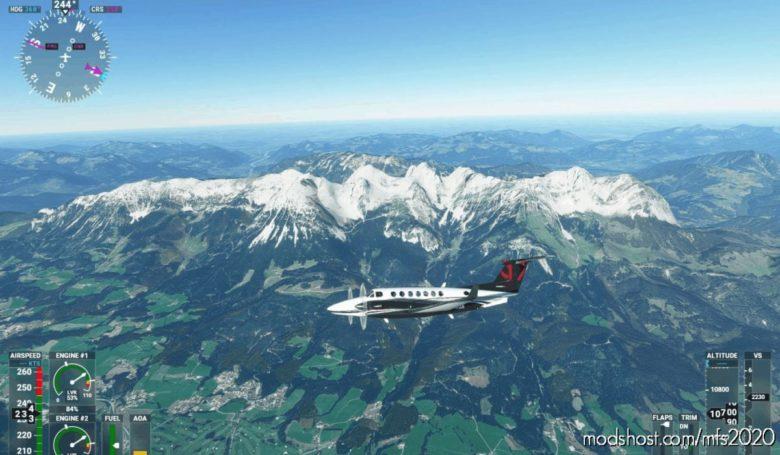Kasiergebirge (Wilder Kaiser Tirol) for Microsoft Flight Simulator 2020