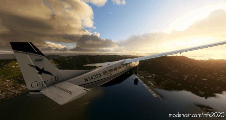 Cessna 208B Cape AIR (N143CA) for Microsoft Flight Simulator 2020