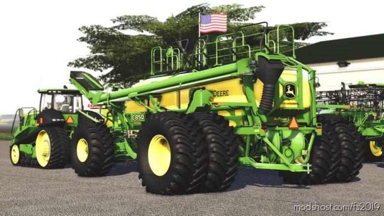 John Deere C850 AIR Cart for Farming Simulator 19