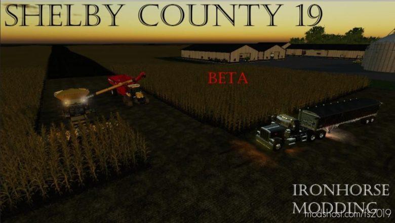 Shelby County Beta for Farming Simulator 19