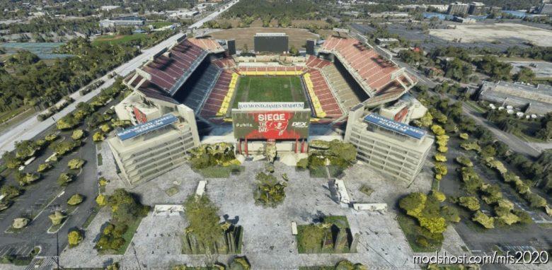 Raymond James Stadium, Tampa, FL for Microsoft Flight Simulator 2020