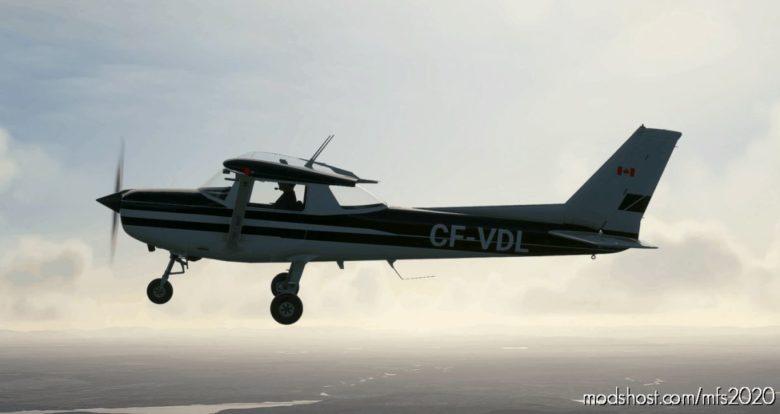 [4K] Cessna 152 Cf-Vdl Livery for Microsoft Flight Simulator 2020