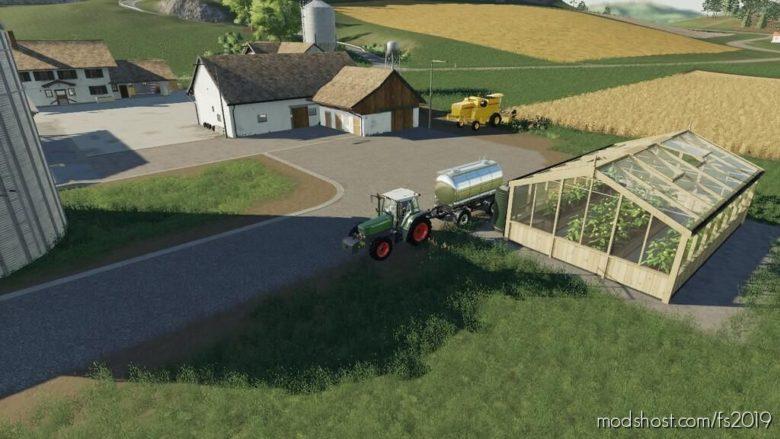 Greenhouse Lemon for Farming Simulator 19