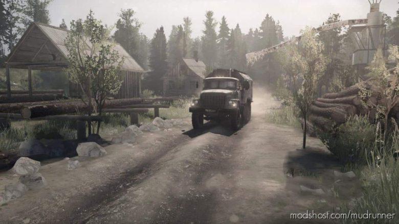 Obdorsk 89 Map for MudRunner