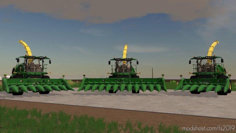 John Deere 606C/608C Earlage Header for Farming Simulator 19
