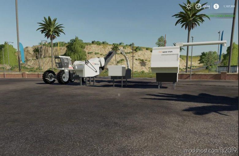NEW Idea C Series Uni-System for Farming Simulator 19