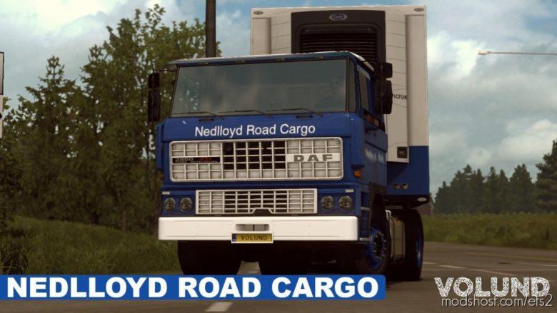 Nedlloyd Road Cargo For DAF F241 By XBS for Euro Truck Simulator 2