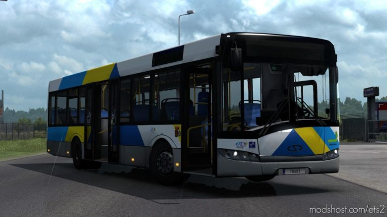 Solaris Urbino III 12 BVG V2.0.4 [1.39] for Euro Truck Simulator 2