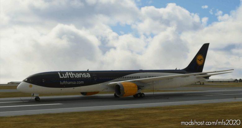 Lufthansa Blue/White Concept 787 – 4K for Microsoft Flight Simulator 2020