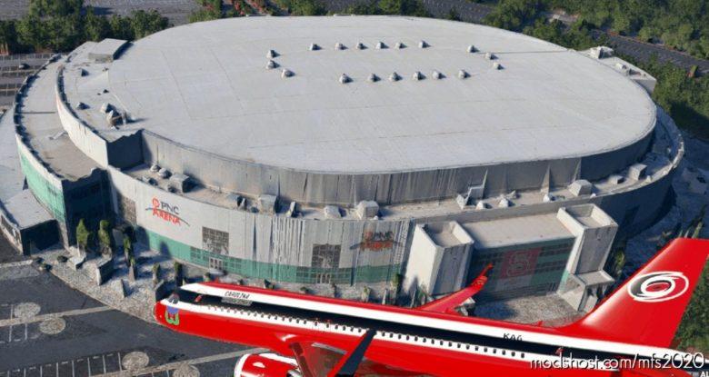 Carolina Hurricanes NHL A320Neo Livery for Microsoft Flight Simulator 2020